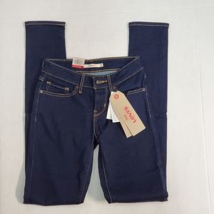 Levi's 711 Womens 24x32 Skinny Jeans Low Rise